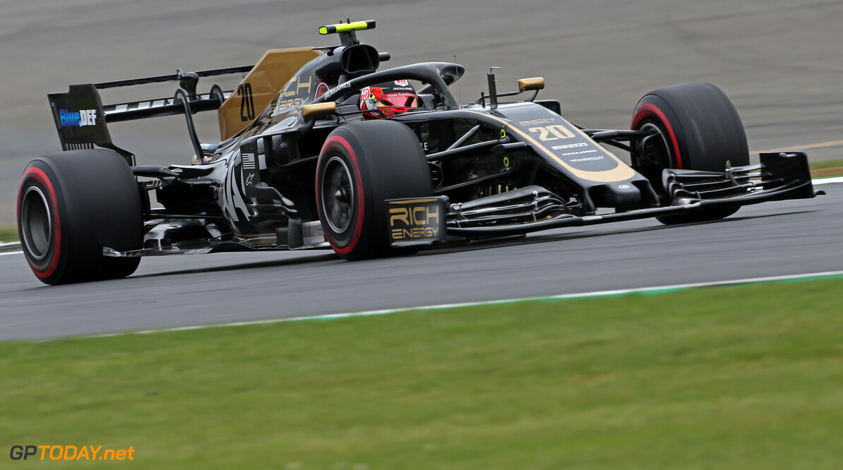 Formula One World Championship Kevin Magnussen (DEN), Haas F1 Team  13.07.2019. Formula 1 World Championship, Rd 10, British Grand Prix, Silverstone, England, Qualifying Day. - www.xpbimages.com, EMail: requests@xpbimages.com - copy of publication required for printed pictures. Every used picture is fee-liable. (C) Copyright: Charniaux / XPB Images Motor Racing - Formula One World Championship - British Grand Prix - Qualifying Day - Silverstone, England XPB Images Silverstone England  Formel1 Formel F1 Formula 1 Formula1 GP Grand Prix one Circuit Silverstone England Britain British United Kingdom UK Saturday 13 07 7 2019 Qualifying Action Track