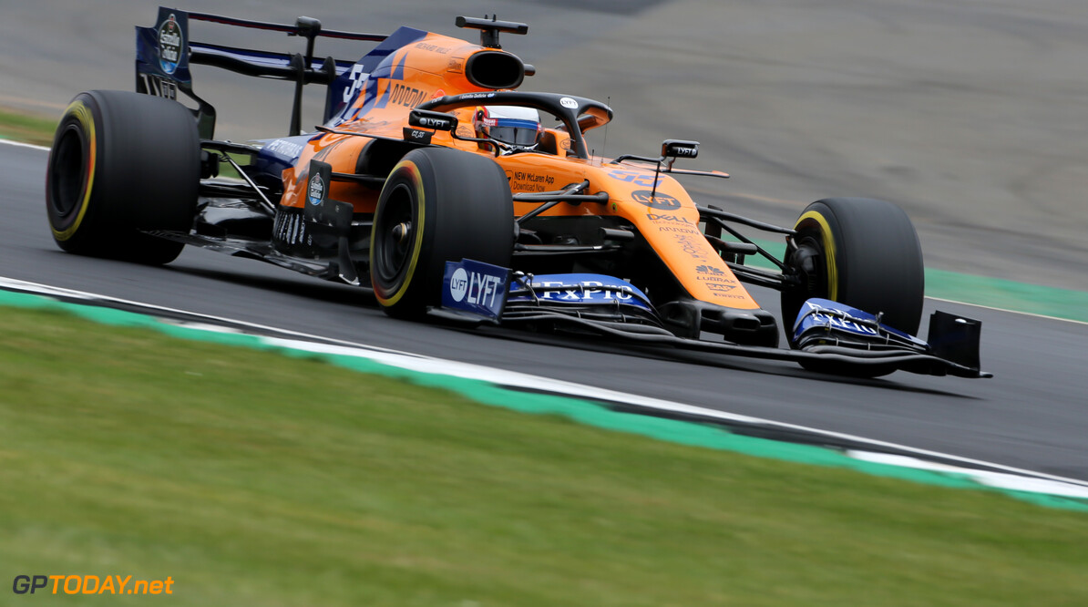 Formula One World Championship Carlos Sainz Jr (ESP), McLaren F1 Team  13.07.2019. Formula 1 World Championship, Rd 10, British Grand Prix, Silverstone, England, Qualifying Day. - www.xpbimages.com, EMail: requests@xpbimages.com - copy of publication required for printed pictures. Every used picture is fee-liable. (C) Copyright: Charniaux / XPB Images Motor Racing - Formula One World Championship - British Grand Prix - Qualifying Day - Silverstone, England XPB Images Silverstone England  Formel1 Formel F1 Formula 1 Formula1 GP Grand Prix one Circuit Silverstone England Britain British United Kingdom UK Saturday 13 07 7 2019 Qualifying Action Track