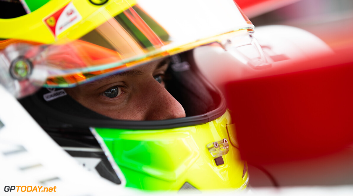 FIA Formula 2 SILVERSTONE, UNITED KINGDOM - JULY 13: Mick Schumacher (DEU, PREMA RACING) during the Silverstone at Silverstone on July 13, 2019 in Silverstone, United Kingdom. (Photo by Joe Portlock / LAT Images / FIA F2 Championship) FIA Formula 2 Joe Portlock  United Kingdom  FIA Formula 2