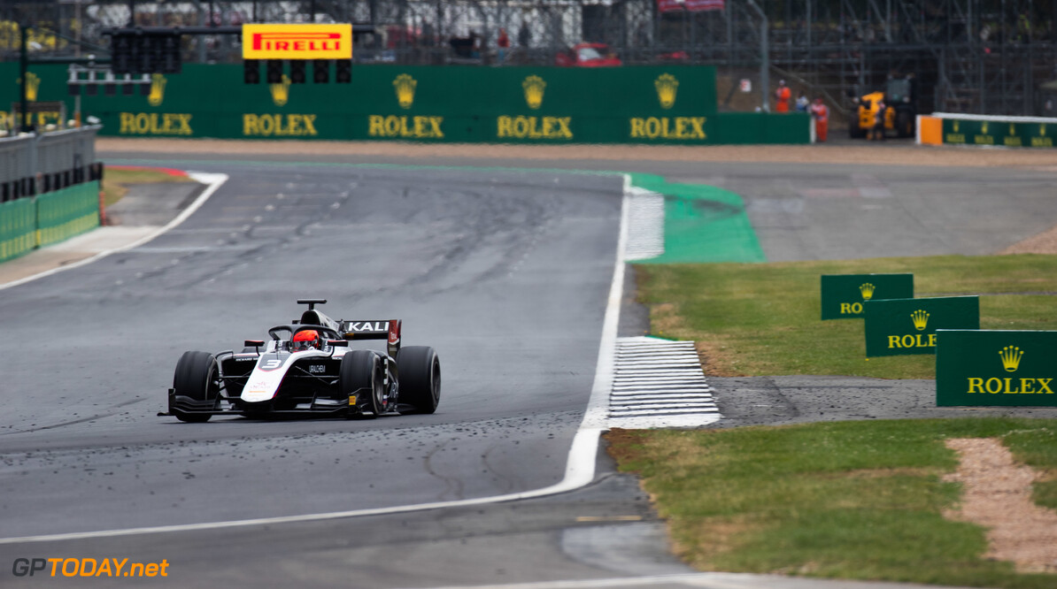 FIA Formula 2 SILVERSTONE, UNITED KINGDOM - JULY 13: Nikita Mazepin (RUS, ART Grand Prix) during the Silverstone at Silverstone on July 13, 2019 in Silverstone, United Kingdom. (Photo by Joe Portlock / LAT Images / FIA F2 Championship) FIA Formula 2 Joe Portlock  United Kingdom  FIA Formula 2