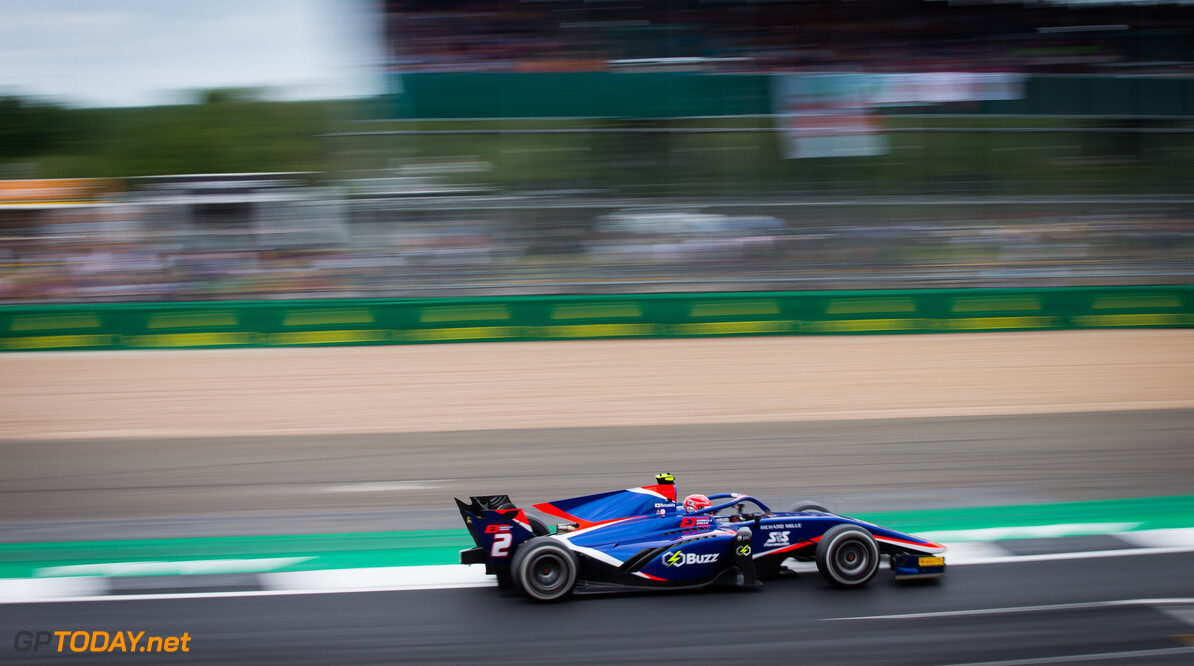 FIA Formula 2 SILVERSTONE, UNITED KINGDOM - JULY 13: Nobuharu Matsushita (JPN, CARLIN) during the Silverstone at Silverstone on July 13, 2019 in Silverstone, United Kingdom. (Photo by Colin McMaster) FIA Formula 2 Colin McMaster  United Kingdom  Action