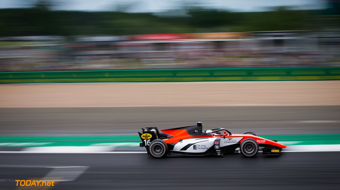 FIA Formula 2 SILVERSTONE, UNITED KINGDOM - JULY 13: Jordan King (GBR, MP MOTORSPORT) during the Silverstone at Silverstone on July 13, 2019 in Silverstone, United Kingdom. (Photo by Colin McMaster) FIA Formula 2 Colin McMaster  United Kingdom  Action