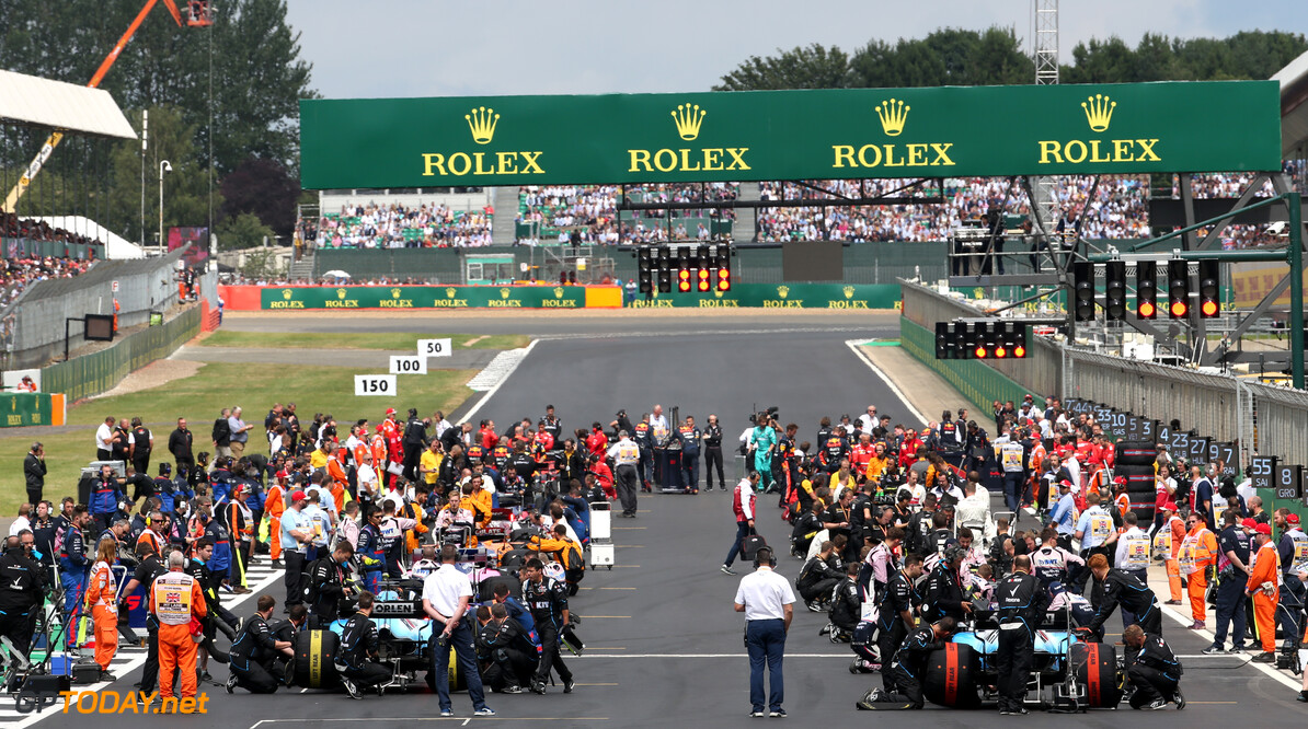 Formula One World Championship The Grid. 14.07.2019. Formula 1 World Championship, Rd 10, British Grand Prix, Silverstone, England, Race Day. - www.xpbimages.com, EMail: requests@xpbimages.com - copy of publication required for printed pictures. Every used picture is fee-liable. (C) Copyright: Batchelor / XPB Images Motor Racing - Formula One World Championship - British Grand Prix - Race Day - Silverstone, England XPB Images Silverstone England  Formel1 Formel F1 Formula 1 Formula1 GP Grand Prix one Circuit Silverstone England Britain British United Kingdom UK Sunday 14 07 7 2019 Race Action Track