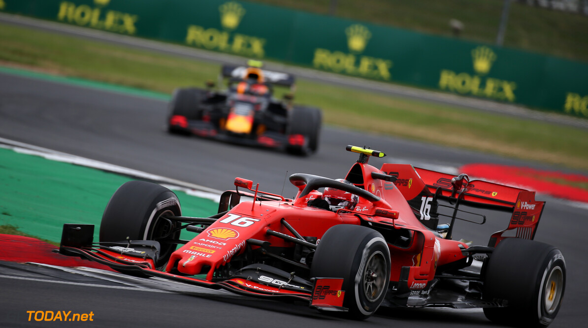 Formula One World Championship Charles Leclerc (MON) Ferrari SF90. 14.07.2019. Formula 1 World Championship, Rd 10, British Grand Prix, Silverstone, England, Race Day. - www.xpbimages.com, EMail: requests@xpbimages.com - copy of publication required for printed pictures. Every used picture is fee-liable. (C) Copyright: Batchelor / XPB Images Motor Racing - Formula One World Championship - British Grand Prix - Race Day - Silverstone, England XPB Images Silverstone England  Formel1 Formel F1 Formula 1 Formula1 GP Grand Prix one Circuit Silverstone England Britain British United Kingdom UK Sunday 14 07 7 2019 Race Action Track