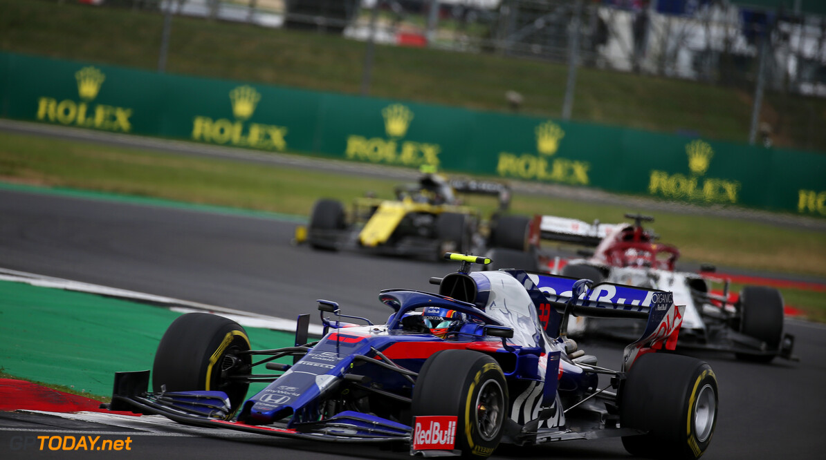 Formula One World Championship Alexander Albon (THA) Scuderia Toro Rosso STR14. 14.07.2019. Formula 1 World Championship, Rd 10, British Grand Prix, Silverstone, England, Race Day. - www.xpbimages.com, EMail: requests@xpbimages.com - copy of publication required for printed pictures. Every used picture is fee-liable. (C) Copyright: Batchelor / XPB Images Motor Racing - Formula One World Championship - British Grand Prix - Race Day - Silverstone, England XPB Images Silverstone England  Formel1 Formel F1 Formula 1 Formula1 GP Grand Prix one Circuit Silverstone England Britain British United Kingdom UK Sunday 14 07 7 2019 Race Action Track