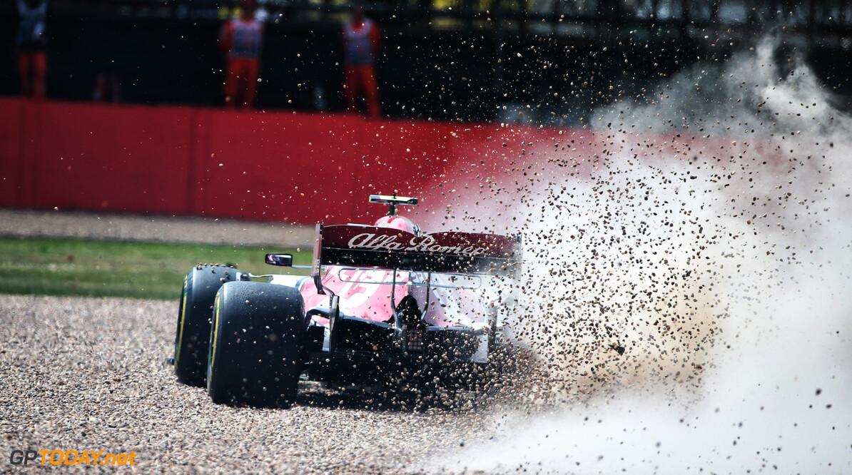 Giovinazzi tast in het duister waarom hij op Silverstone spinde