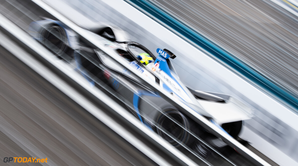 2019 New York City E-prix II BROOKLYN STREET CIRCUIT, UNITED STATES OF AMERICA - JULY 14: Felipe Massa (BRA), Venturi Formula E, Venturi VFE05 during the New York City E-prix II at Brooklyn Street Circuit on July 14, 2019 in Brooklyn Street Circuit, United States of America. (Photo by Simon Galloway / LAT Images) 2019 New York City E-prix II Simon Galloway  United States of America  action electric FE open wheel