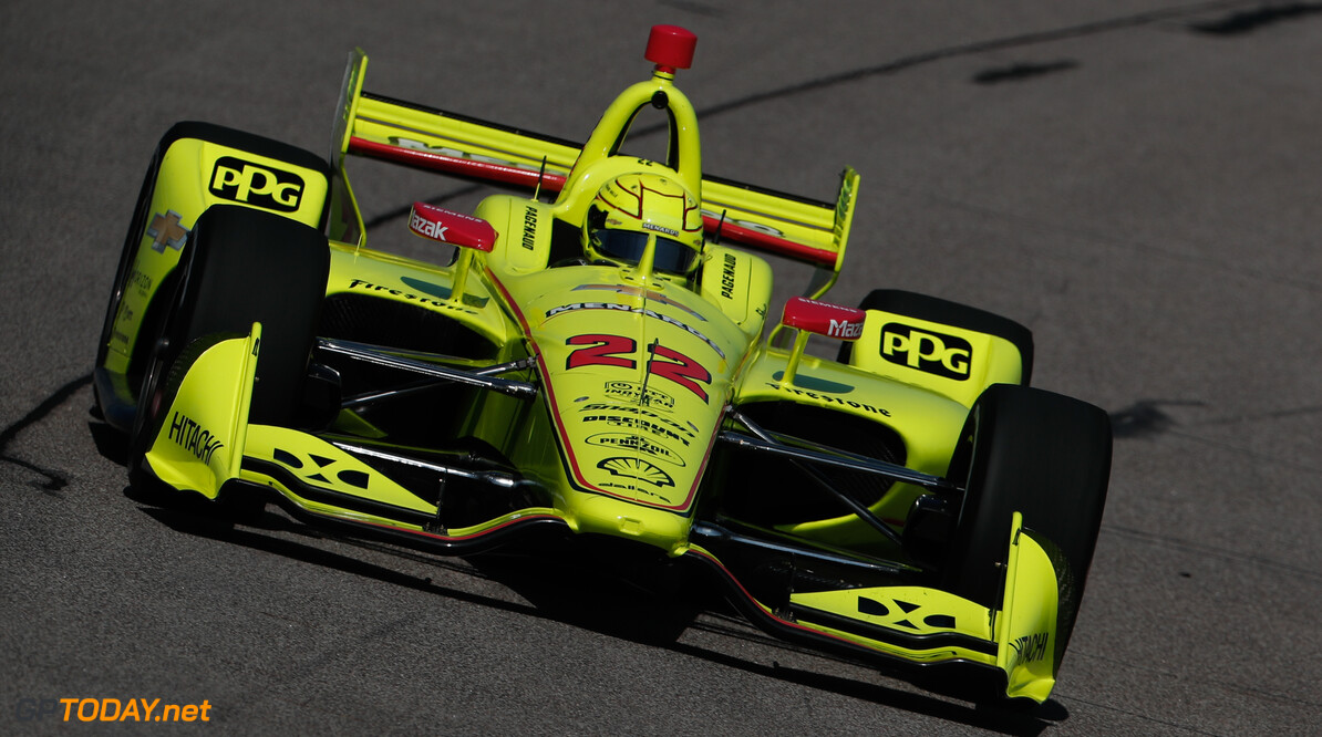 <strong>Qualifying:</strong> Pagenaud takes second consecutive pole position as Penske dominates