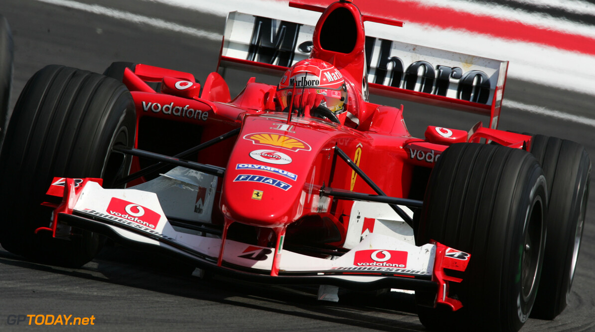 Mick Schumacher 'very excited' for F2004 run