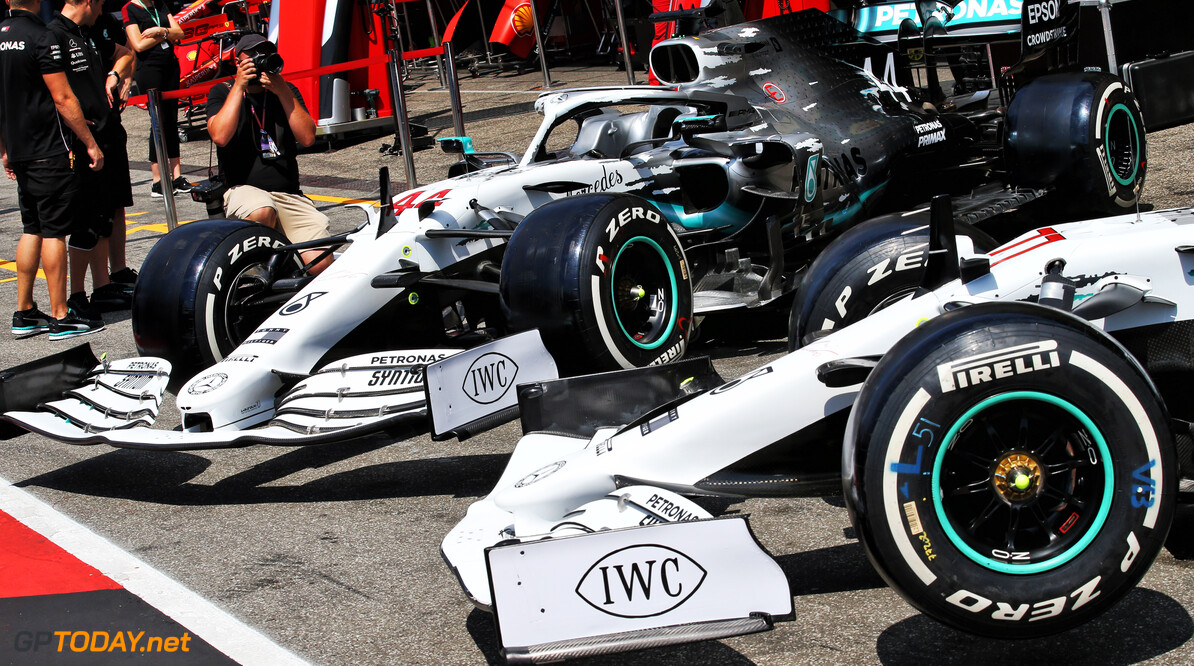 Mercedes unveils commemorative livery for German GP