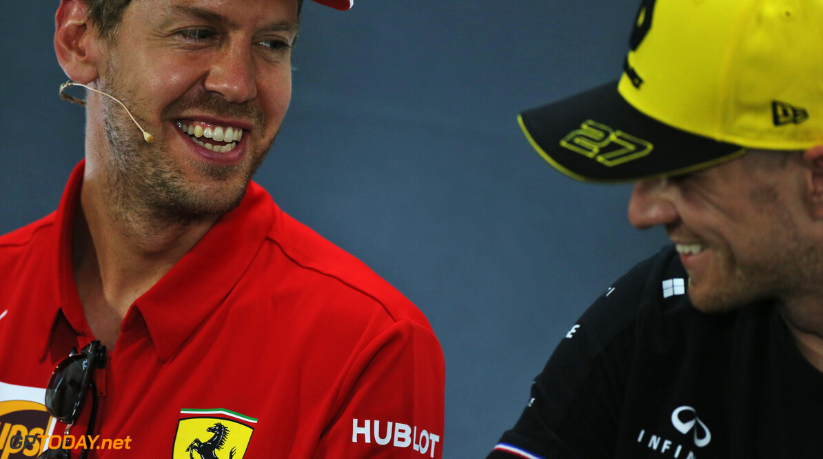 Vettel hopeful Hulkenberg will find 2020 F1 seat