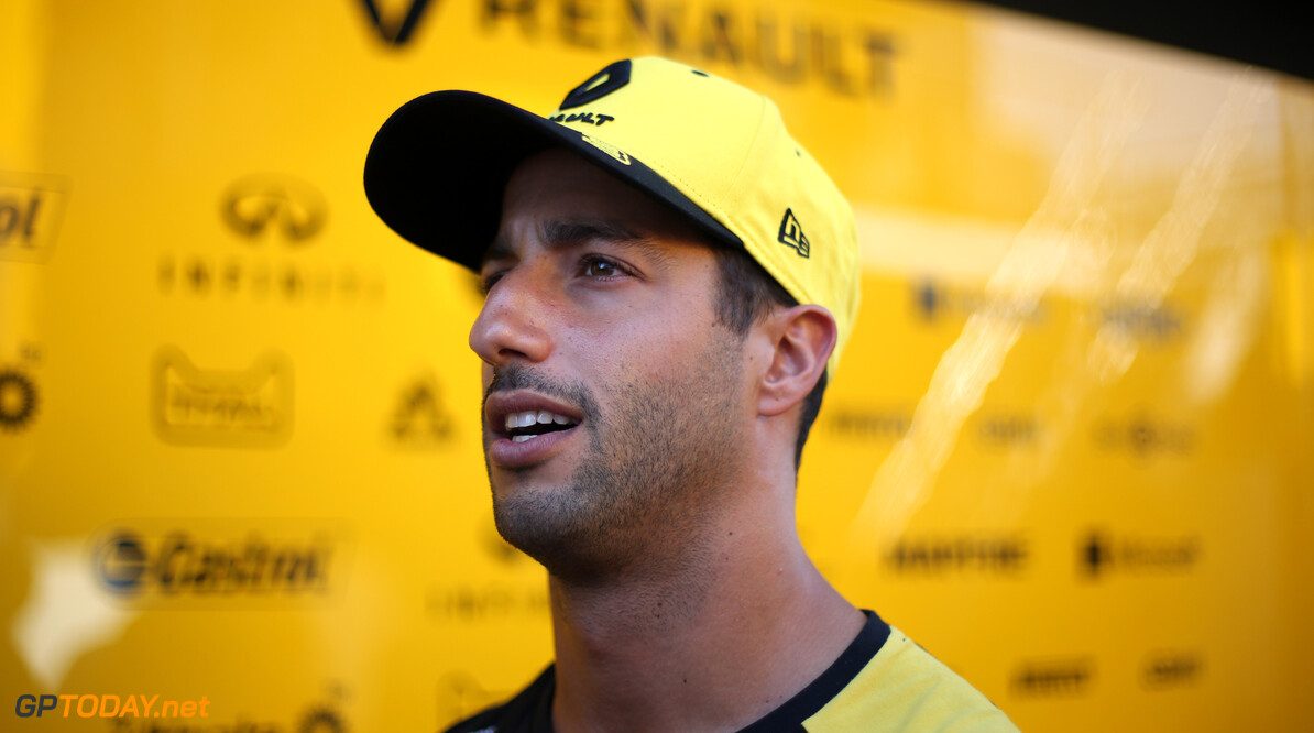 Formula One World Championship Daniel Ricciardo (AUS), Renault F1 Team  25.07.2019. Formula 1 World Championship, Rd 11, German Grand Prix, Hockenheim, Germany, Preparation Day. - www.xpbimages.com, EMail: requests@xpbimages.com - copy of publication required for printed pictures. Every used picture is fee-liable. (C) Copyright: Charniaux / XPB Images Motor Racing - Formula One World Championship - German Grand Prix - Preparation Day - Hockenheim, Germany XPB Images Hockenheim Germany  Formel1 Formel F1 Formula 1 Formula1 GP Grand Prix one Thursday Portrait Circuit July German Germany Hockenheim Hockenheimring 25 07 7 2019