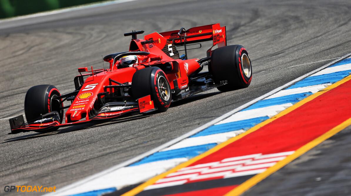<b>Video: </b>Probleem met turbo maakt vroeg einde aan kwalificatie Vettel
