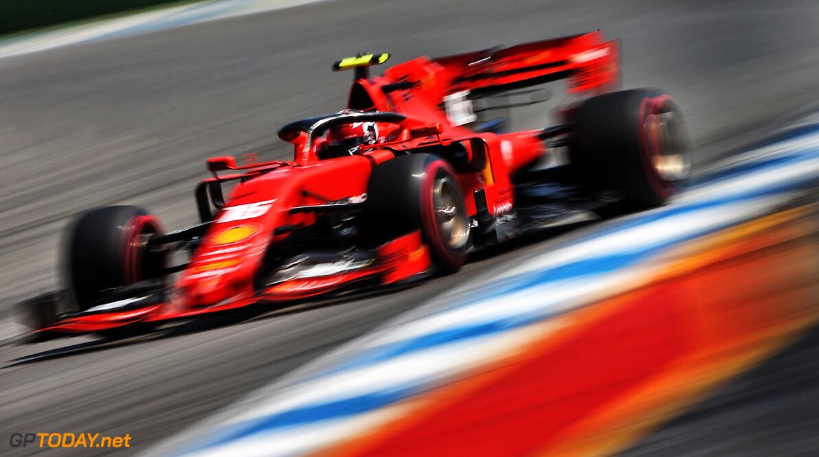 <b>VT2</b>: Leclerc lost Vettel af op P1 in Duitsland, Verstappen vijfde