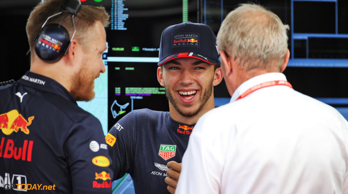 """Marko bevestigt: """"Gasly maakt seizoen 2019 af bij Red Bull Racing"""""""