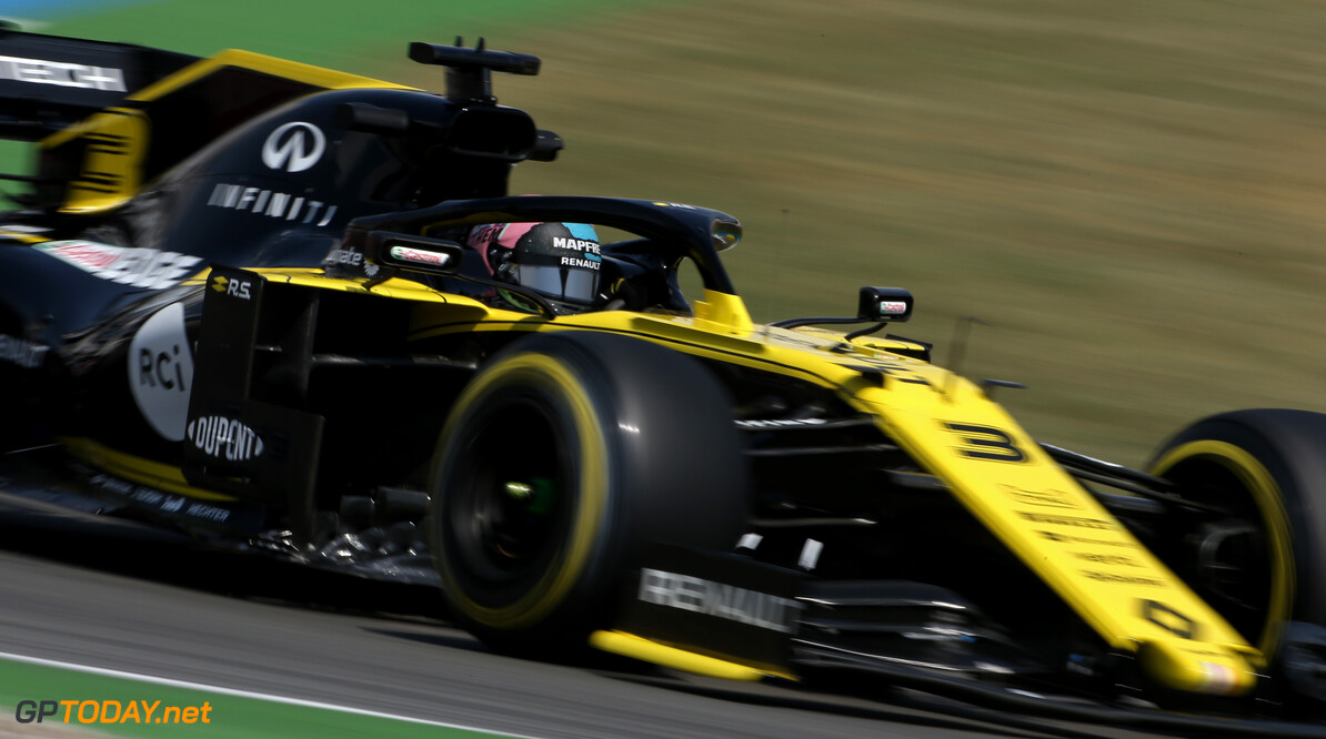 Formula One World Championship Daniel Ricciardo (AUS), Renault F1 Team  26.07.2019. Formula 1 World Championship, Rd 11, German Grand Prix, Hockenheim, Germany, Practice Day. - www.xpbimages.com, EMail: requests@xpbimages.com - copy of publication required for printed pictures. Every used picture is fee-liable. (C) Copyright: Charniaux / XPB Images Motor Racing - Formula One World Championship - German Grand Prix - Practice Day - Hockenheim, Germany XPB Images Hockenheim Germany  Formel1 Formel F1 Formula 1 Formula1 GP Grand Prix one Circuit July German Germany Hockenheim Hockenheimring Friday 26 07 7 2019 Action Track