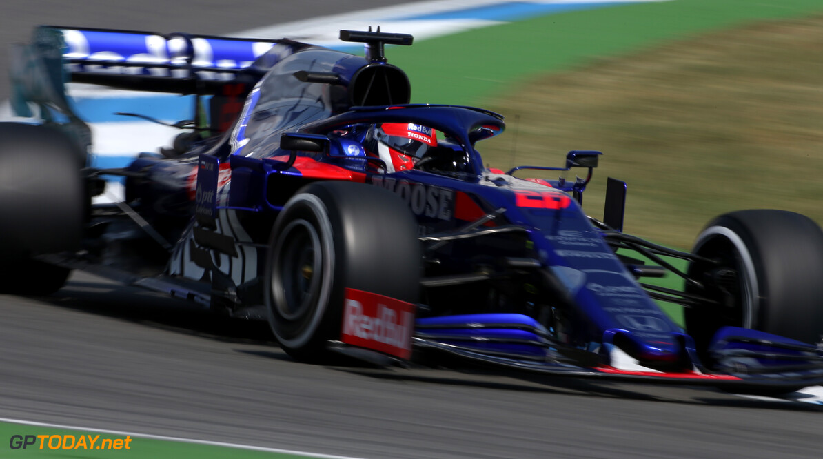 Formula One World Championship Daniil Kvyat (RUS), Scuderia Toro Rosso  26.07.2019. Formula 1 World Championship, Rd 11, German Grand Prix, Hockenheim, Germany, Practice Day. - www.xpbimages.com, EMail: requests@xpbimages.com - copy of publication required for printed pictures. Every used picture is fee-liable. (C) Copyright: Charniaux / XPB Images Motor Racing - Formula One World Championship - German Grand Prix - Practice Day - Hockenheim, Germany XPB Images Hockenheim Germany  Formel1 Formel F1 Formula 1 Formula1 GP Grand Prix one Circuit July German Germany Hockenheim Hockenheimring Friday 26 07 7 2019 Action Track