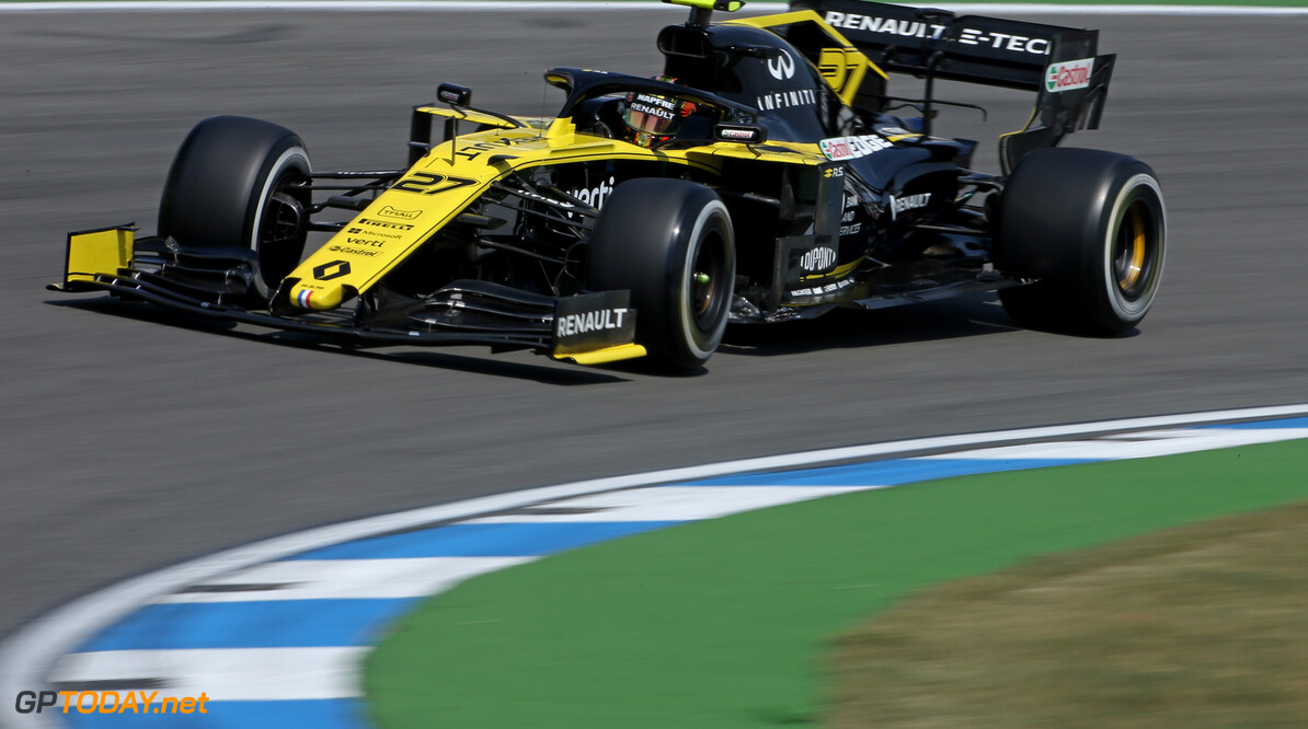 Formula One World Championship Nico Hulkenberg (GER), Renault Sport F1 Team  26.07.2019. Formula 1 World Championship, Rd 11, German Grand Prix, Hockenheim, Germany, Practice Day. - www.xpbimages.com, EMail: requests@xpbimages.com - copy of publication required for printed pictures. Every used picture is fee-liable. (C) Copyright: Charniaux / XPB Images Motor Racing - Formula One World Championship - German Grand Prix - Practice Day - Hockenheim, Germany XPB Images Hockenheim Germany  Formel1 Formel F1 Formula 1 Formula1 GP Grand Prix one Circuit July German Germany Hockenheim Hockenheimring Friday 26 07 7 2019 Action Track