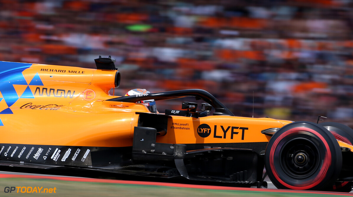 Formula One World Championship Carlos Sainz Jr (ESP), McLaren F1 Team  27.07.2019. Formula 1 World Championship, Rd 11, German Grand Prix, Hockenheim, Germany, Qualifying Day. - www.xpbimages.com, EMail: requests@xpbimages.com - copy of publication required for printed pictures. Every used picture is fee-liable. (C) Copyright: Charniaux / XPB Images Motor Racing - Formula One World Championship - German Grand Prix - Qualifying Day - Hockenheim, Germany XPB Images Hockenheim Germany  Formel1 Formel F1 Formula 1 Formula1 GP Grand Prix one Circuit July German Germany Hockenheim Hockenheimring Saturday 27 07 7 2019 Qualifying Action Track