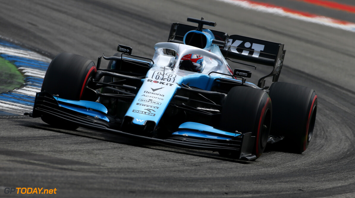 Formula One World Championship George Russell (GBR), Williams F1 Team  27.07.2019. Formula 1 World Championship, Rd 11, German Grand Prix, Hockenheim, Germany, Qualifying Day. - www.xpbimages.com, EMail: requests@xpbimages.com - copy of publication required for printed pictures. Every used picture is fee-liable. (C) Copyright: Charniaux / XPB Images Motor Racing - Formula One World Championship - German Grand Prix - Qualifying Day - Hockenheim, Germany XPB Images Hockenheim Germany  Formel1 Formel F1 Formula 1 Formula1 GP Grand Prix one Circuit July German Germany Hockenheim Hockenheimring Saturday 27 07 7 2019 Practice Action Track