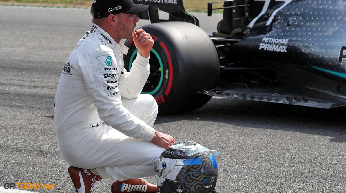 Bottas has 'plan B' should he lose Mercedes drive
