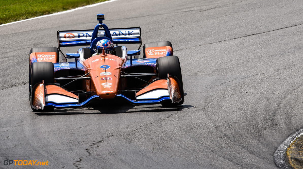 <strong>Honda 200: </strong>Dixon holds off Rosenqvist to win in Ohio