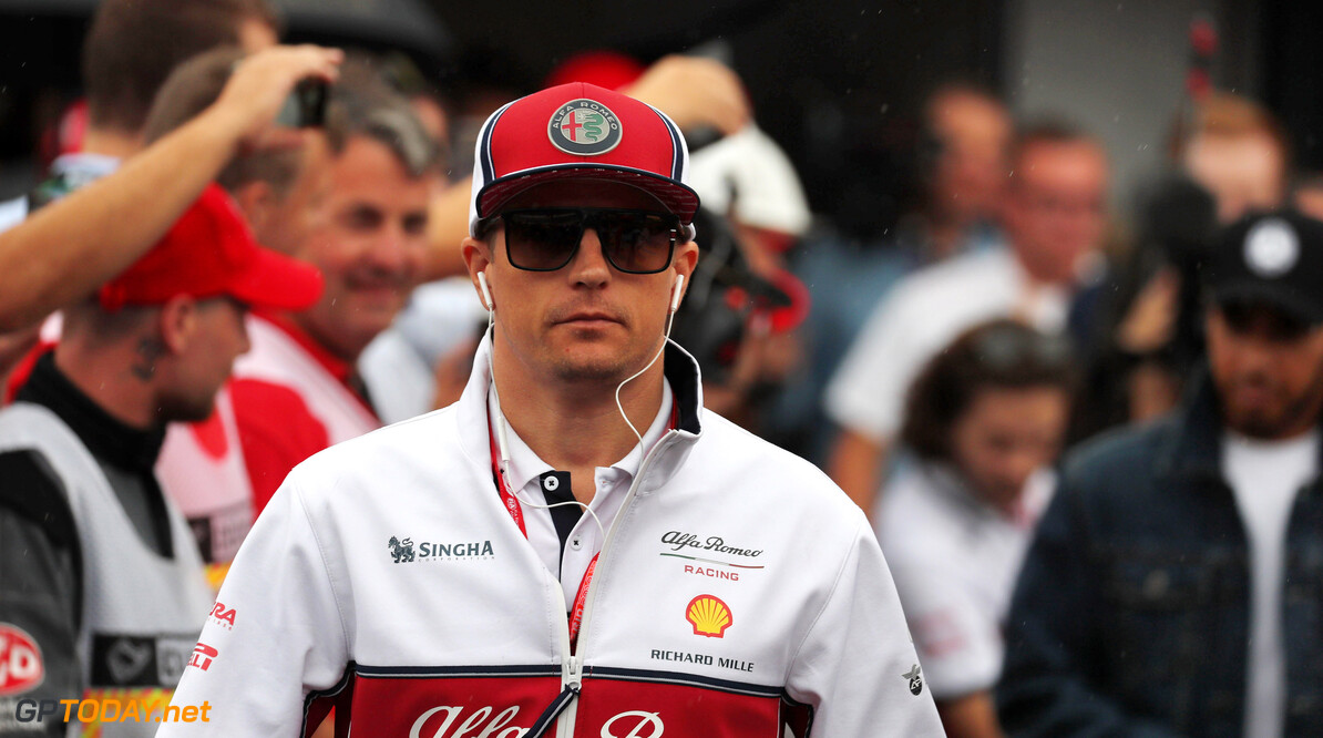 Raikkonen enduring stomach problems at Spa