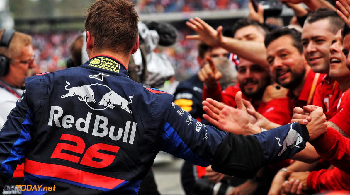Honda: Kvyat's podium a reward for Toro Rosso