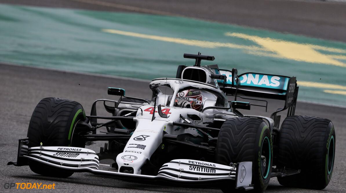Hamilton wilde Mercedes vroegtijdig in de pits parkeren