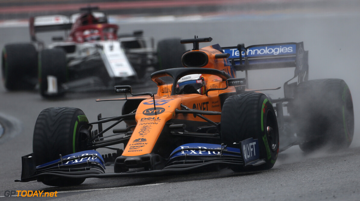 Seidl commends McLaren for avoiding mid-race switch to dry tyres