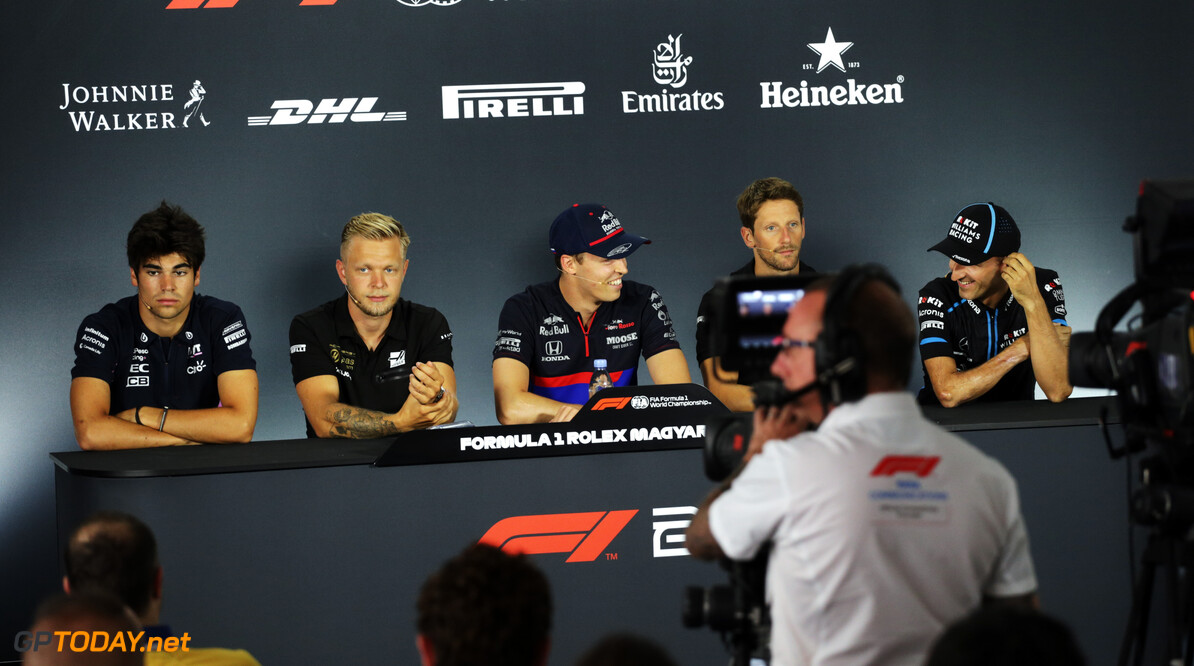 Press conference schedule for 2019 Belgian Grand Prix