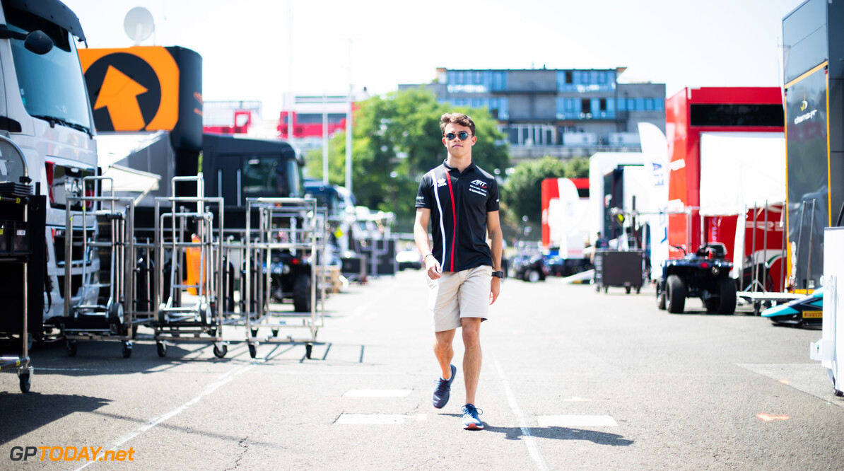 FIA Formula 2 HUNGARORING, HUNGARY - AUGUST 01: Nyck De Vries (NLD, ART GRAND PRIX) during the Hungaroring at Hungaroring on August 01, 2019 in Hungaroring, Hungary. (Photo by Joe Portlock / LAT Images / FIA F2 Championship) FIA Formula 2 Joe Portlock  Hungary  FIA Formula 2