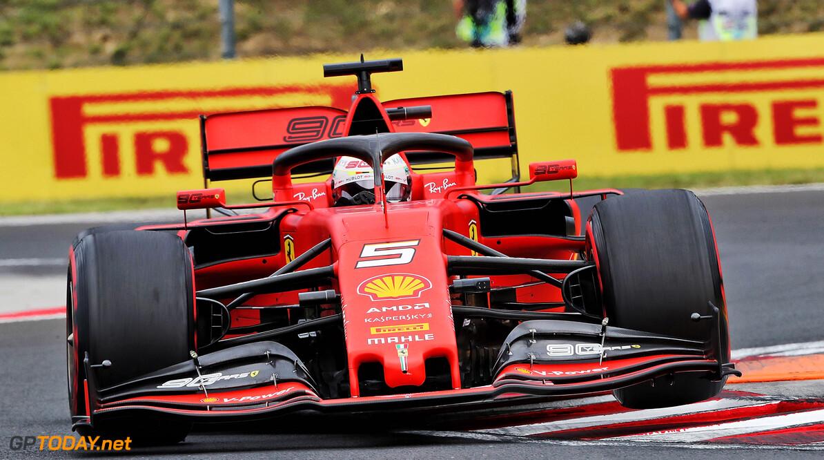 """Vettel: """"Kwalificatie Hongarije bevestigt beeld van Ferrari in 2019"""""""