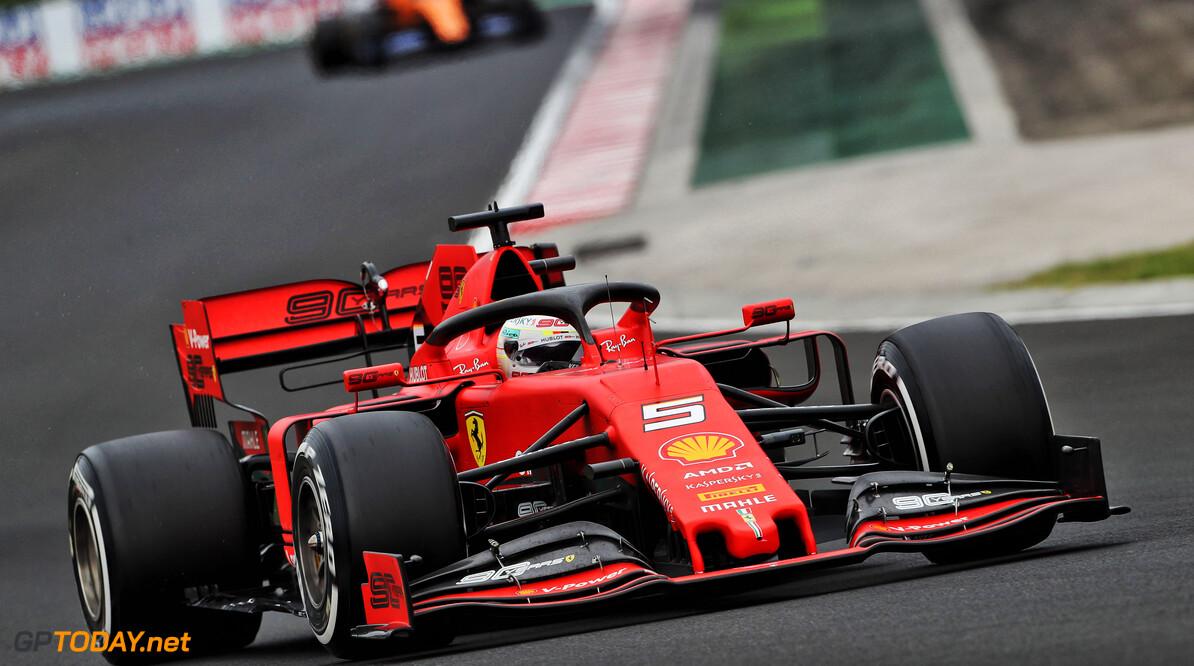 Vettel: Ferrari's Hungary pace not eye-opening