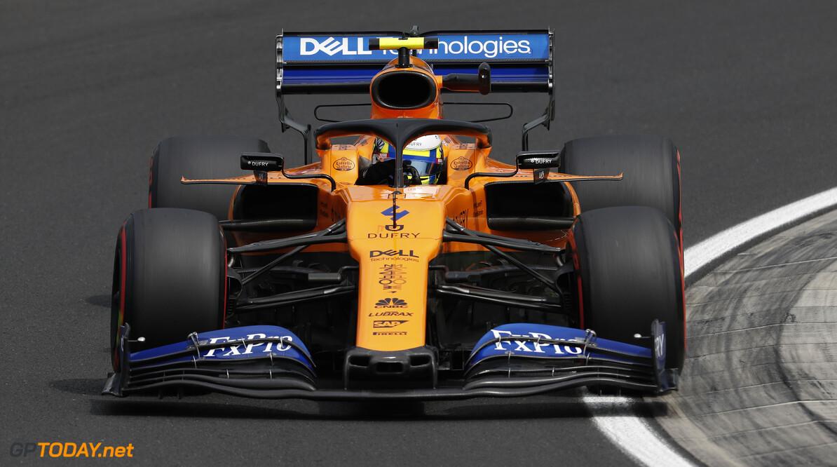 Lando Norris, McLaren MCL34   Zak Mauger    action