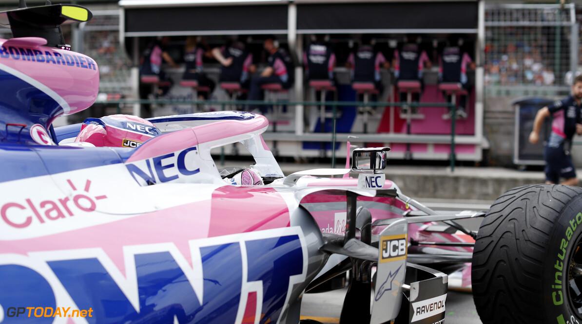 Lance Stroll, Racing Point RP19  Zak Mauger    practice GP19012b GP19012b_M F1 GP Budapest Hungary Hungaroring