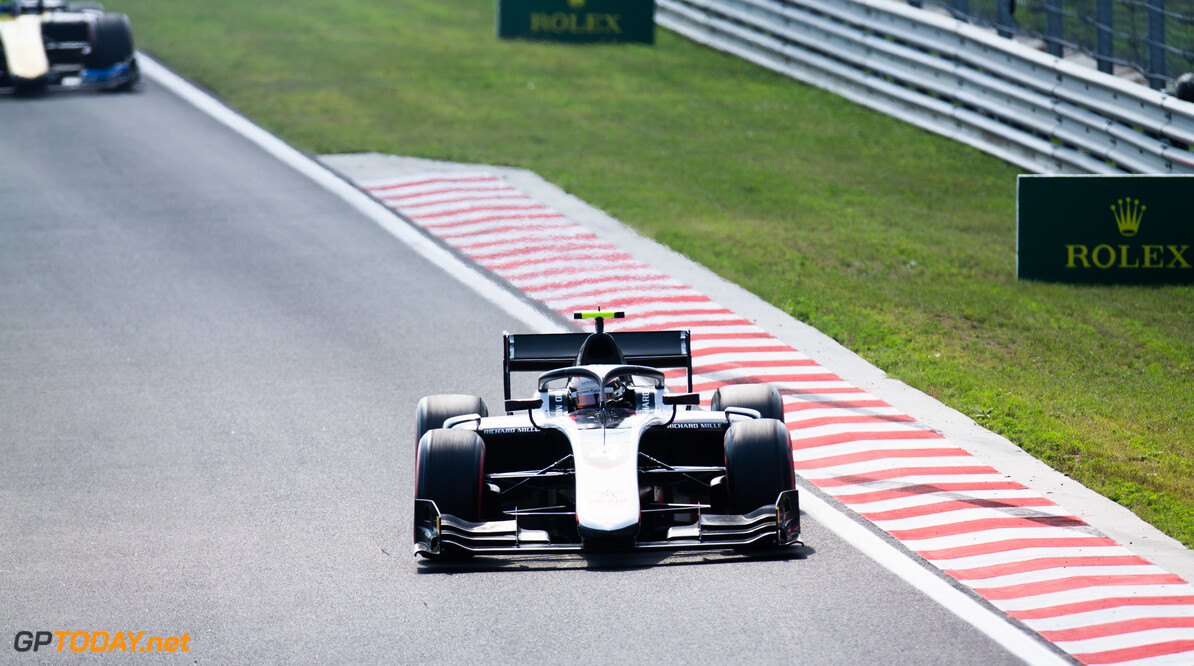 FIA Formula 2 HUNGARORING, HUNGARY - AUGUST 03: Nyck De Vries (NLD, ART GRAND PRIX) during the Hungaroring at Hungaroring on August 03, 2019 in Hungaroring, Hungary. (Photo by Joe Portlock / LAT Images / FIA F2 Championship) FIA Formula 2 Joe Portlock  Hungary  FIA Formula 2