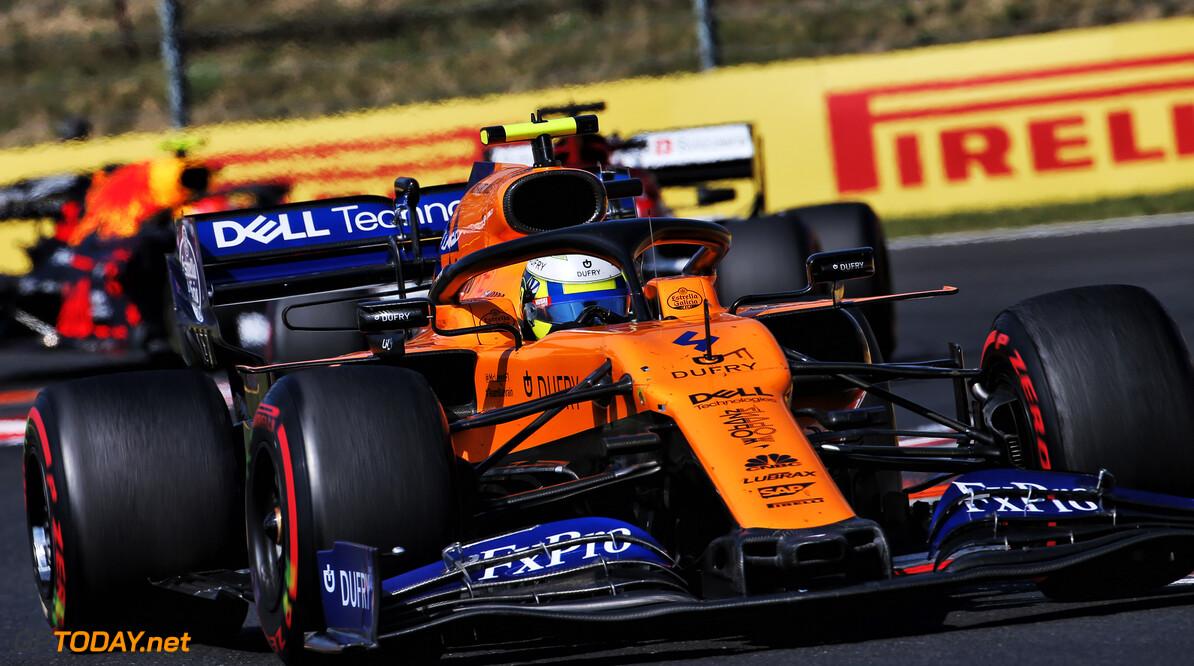 Norris 'wouldn't mind' wet qualifying despite 'frustrating' lack of Friday running