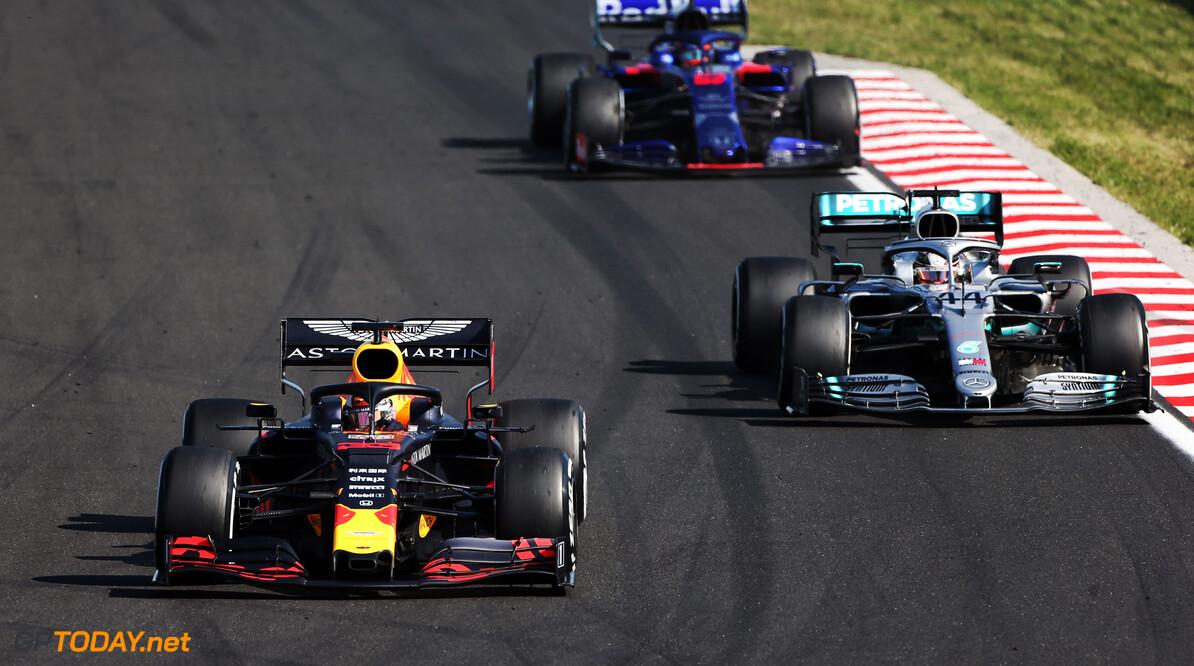 Verstappen: Hamilton's charge shows Mercedes still dominant