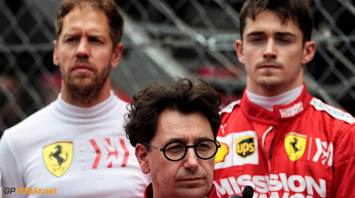 Vettel: Binotto brings calmness to Ferrari's struggles