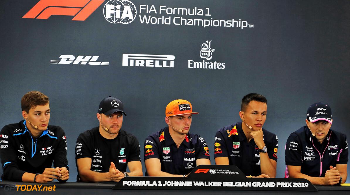 Press conference schedule for 2019 Italian Grand Prix