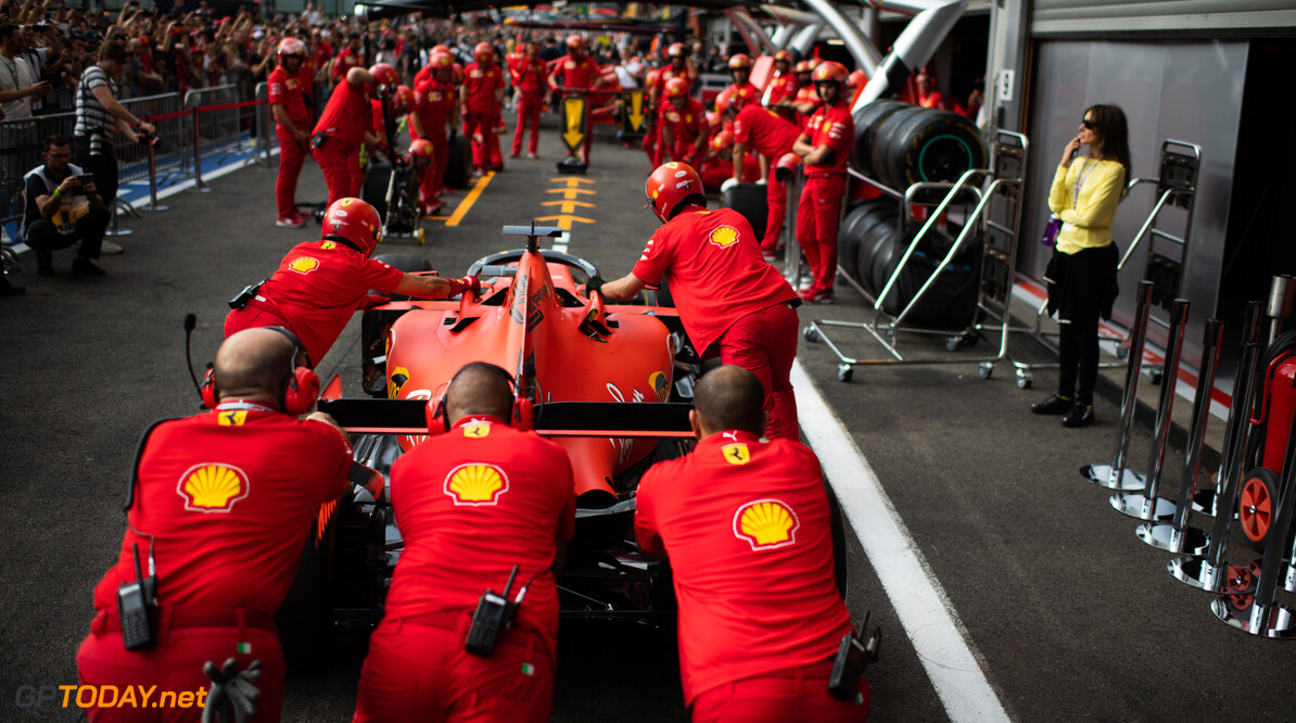 <strong>Photos:</strong> Thursday at the Belgian Grand Prix