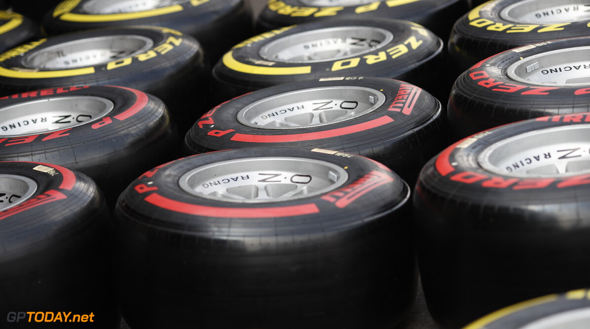 FIA Formula 2 SPA-FRANCORCHAMPS, BELGIUM - AUGUST 29: Pirelli Tyres during the Spa-Francorchamps at Spa-Francorchamps on August 29, 2019 in Spa-Francorchamps, Belgium. (Photo by Joe Portlock / LAT Images / FIA F2 Championship) FIA Formula 2 Joe Portlock  Belgium