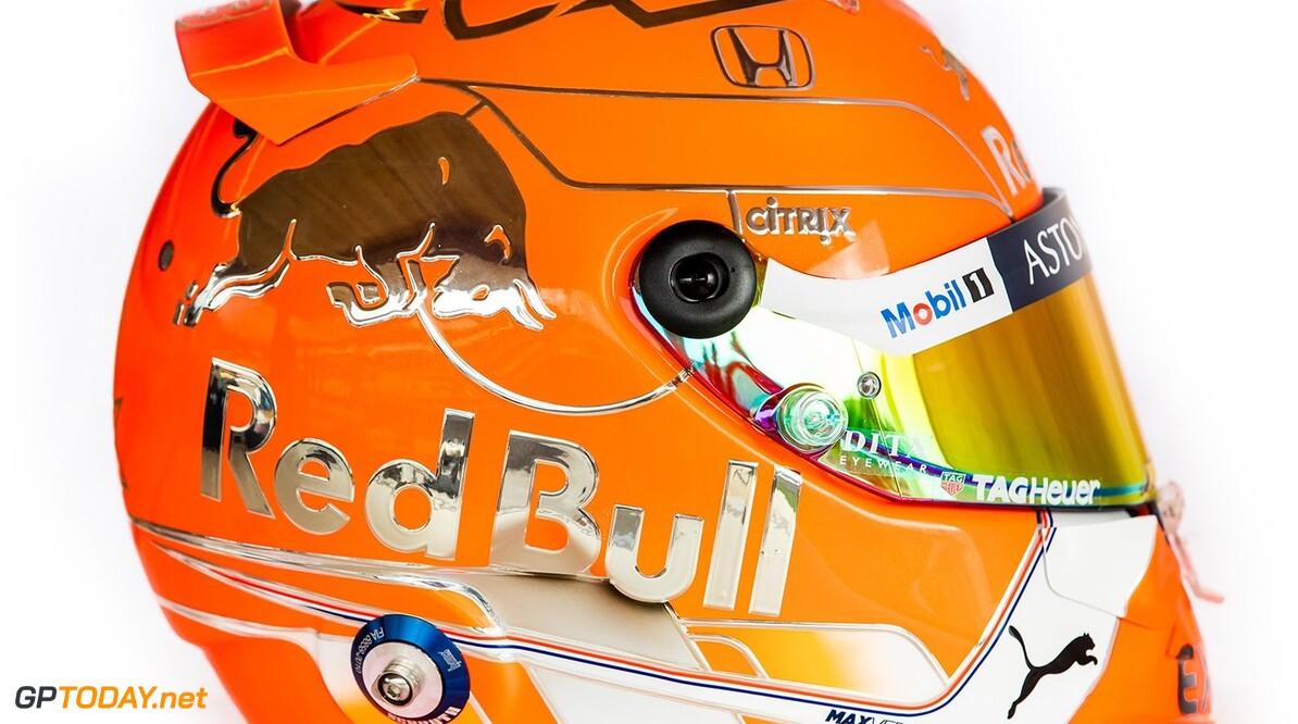 Max Verstappen toont speciale helm voor Spa-Francorchamps