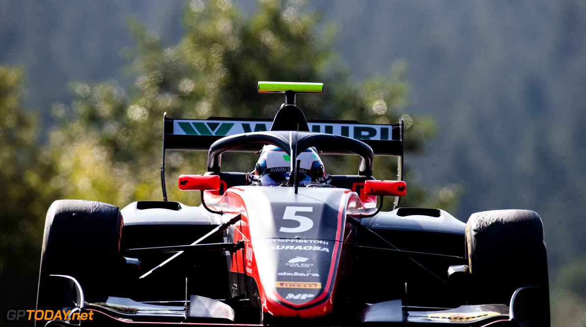 FIA Formula 3 SPA-FRANCORCHAMPS, BELGIUM - AUGUST 30: Simo Laaksonen (FIN, MP Motorsport) during the Spa-Francorchamps at Spa-Francorchamps on August 30, 2019 in Spa-Francorchamps, Belgium. (Photo by Joe Portlock / LAT Images / FIA F3 Championship) FIA Formula 3 Joe Portlock  Belgium  FIA Formula 3 F3 Formula 3 FIA F3