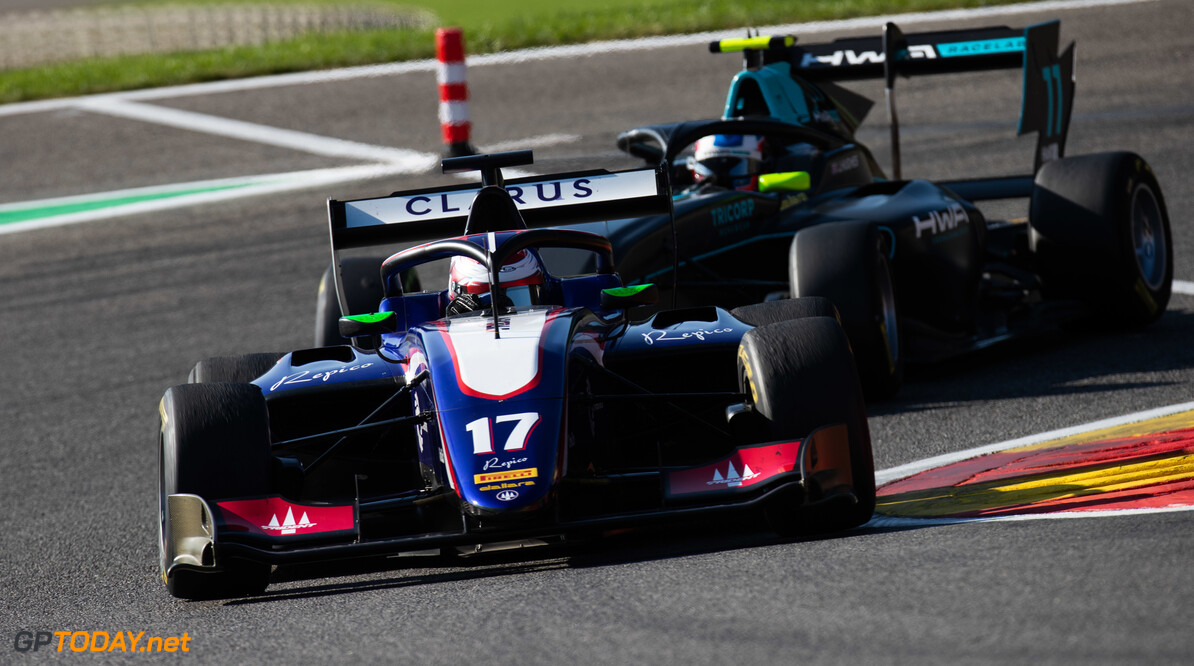 FIA Formula 3 SPA-FRANCORCHAMPS, BELGIUM - AUGUST 30: Devlin DeFrancesco (CAN, Trident) during the Spa-Francorchamps at Spa-Francorchamps on August 30, 2019 in Spa-Francorchamps, Belgium. (Photo by Joe Portlock / LAT Images / FIA F3 Championship) FIA Formula 3 Joe Portlock  Belgium  FIA Formula 3 F3 Formula 3 FIA F3