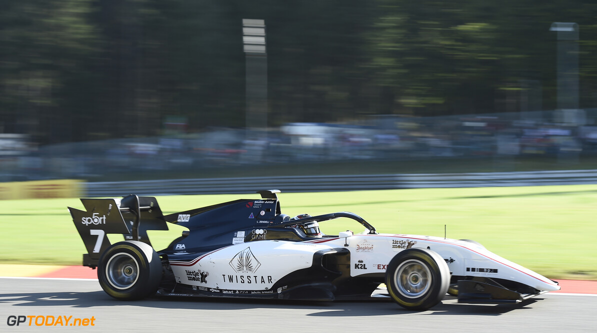 FIA Formula 3 SPA-FRANCORCHAMPS, BELGIUM - AUGUST 30: Lirim Zendeli (DEU, Sauber Junior Team by Charouz) during the Spa-Francorchamps at Spa-Francorchamps on August 30, 2019 in Spa-Francorchamps, Belgium. (Photo by Gareth Harford / LAT Images / FIA F3 Championship) FIA Formula 3 Gareth Harford  Belgium  FIA Formula 3 F3 Formula 3 FIA F3