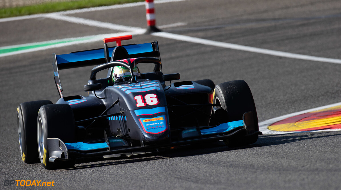 FIA Formula 3 SPA-FRANCORCHAMPS, BELGIUM - AUGUST 30: Andreas Estner (DEU, Jenzer Motorsport) during the Spa-Francorchamps at Spa-Francorchamps on August 30, 2019 in Spa-Francorchamps, Belgium. (Photo by Joe Portlock / LAT Images / FIA F3 Championship) FIA Formula 3 Joe Portlock  Belgium  FIA Formula 3 F3 Formula 3 FIA F3