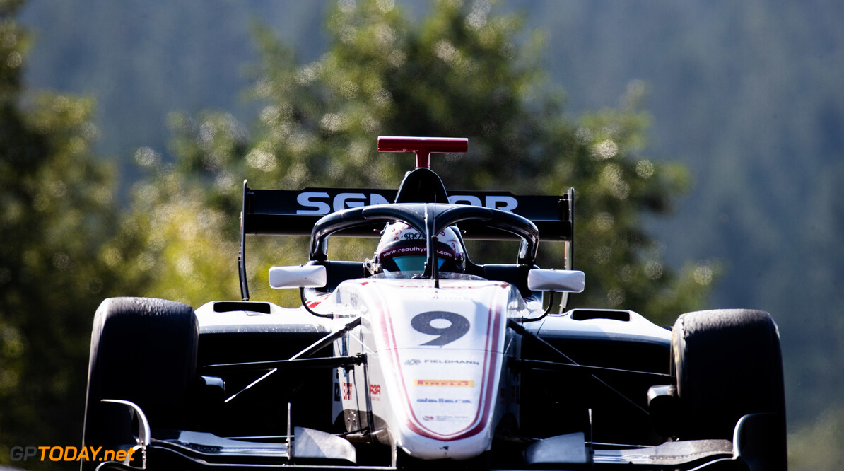 FIA Formula 3 SPA-FRANCORCHAMPS, BELGIUM - AUGUST 30: Raoul Hyman (GBR, Sauber Junior Team by Charouz) during the Spa-Francorchamps at Spa-Francorchamps on August 30, 2019 in Spa-Francorchamps, Belgium. (Photo by Joe Portlock / LAT Images / FIA F3 Championship) FIA Formula 3 Joe Portlock  Belgium  FIA Formula 3 F3 Formula 3 FIA F3