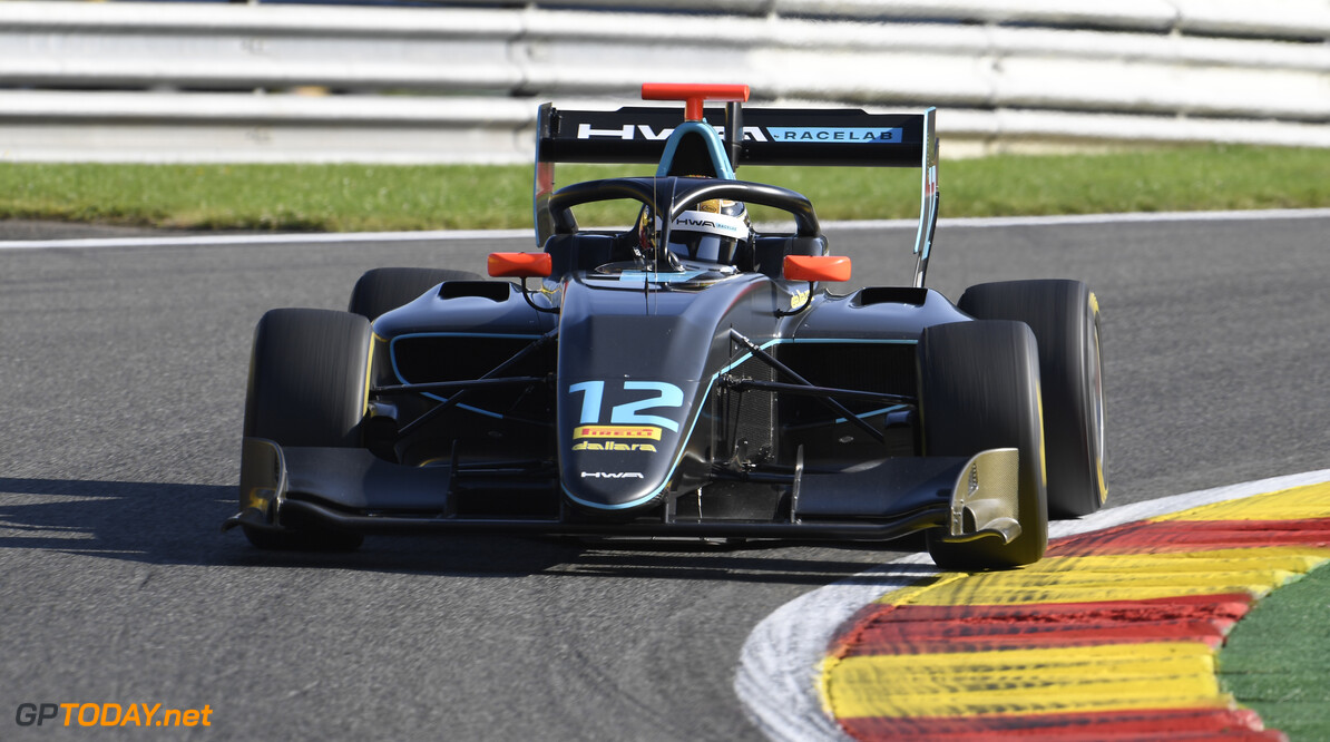 FIA Formula 3 SPA-FRANCORCHAMPS, BELGIUM - AUGUST 30: Keyvan Andres (IRN, HWA RACELAB) during the Spa-Francorchamps at Spa-Francorchamps on August 30, 2019 in Spa-Francorchamps, Belgium. (Photo by Gareth Harford / LAT Images / FIA F3 Championship) FIA Formula 3 Gareth Harford  Belgium  FIA Formula 3 F3 Formula 3 FIA F3